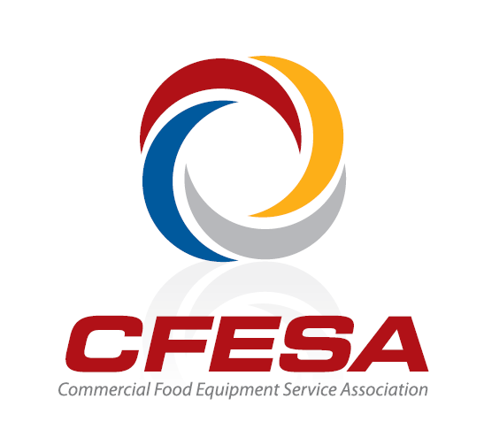 CFESA, or Commercial food equipment service association logo.